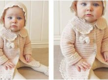 Little Lady Rose crocheted jacket | the crochet space