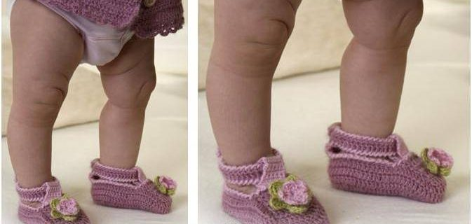 Little MIss Berry crocheted shoes   the crochet space