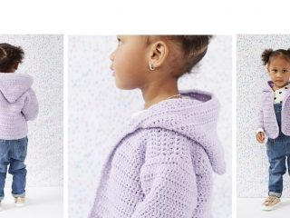 Mighty Mack Crocheted Cardigan | thecrochetspace.com