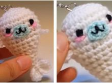 Mamegoma crocheted baby seal | the crochet space