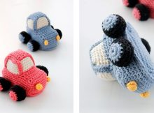 Driving Early Crochet Car | thecrochetspace.com