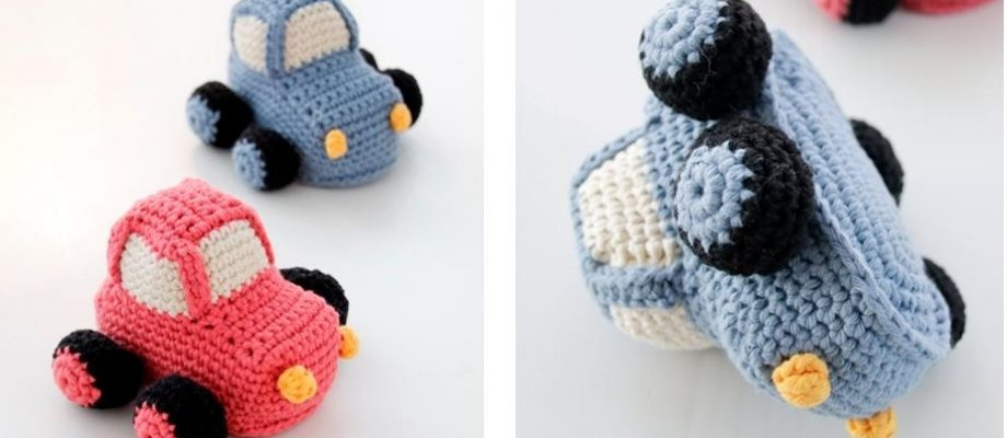 Driving Early Crochet Car [FREE Amigurumi Pattern+Video]