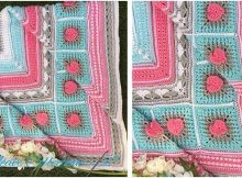 Neave crocheted baby blanket   the crochet space