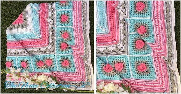 Neave crocheted baby blanket | the crochet space