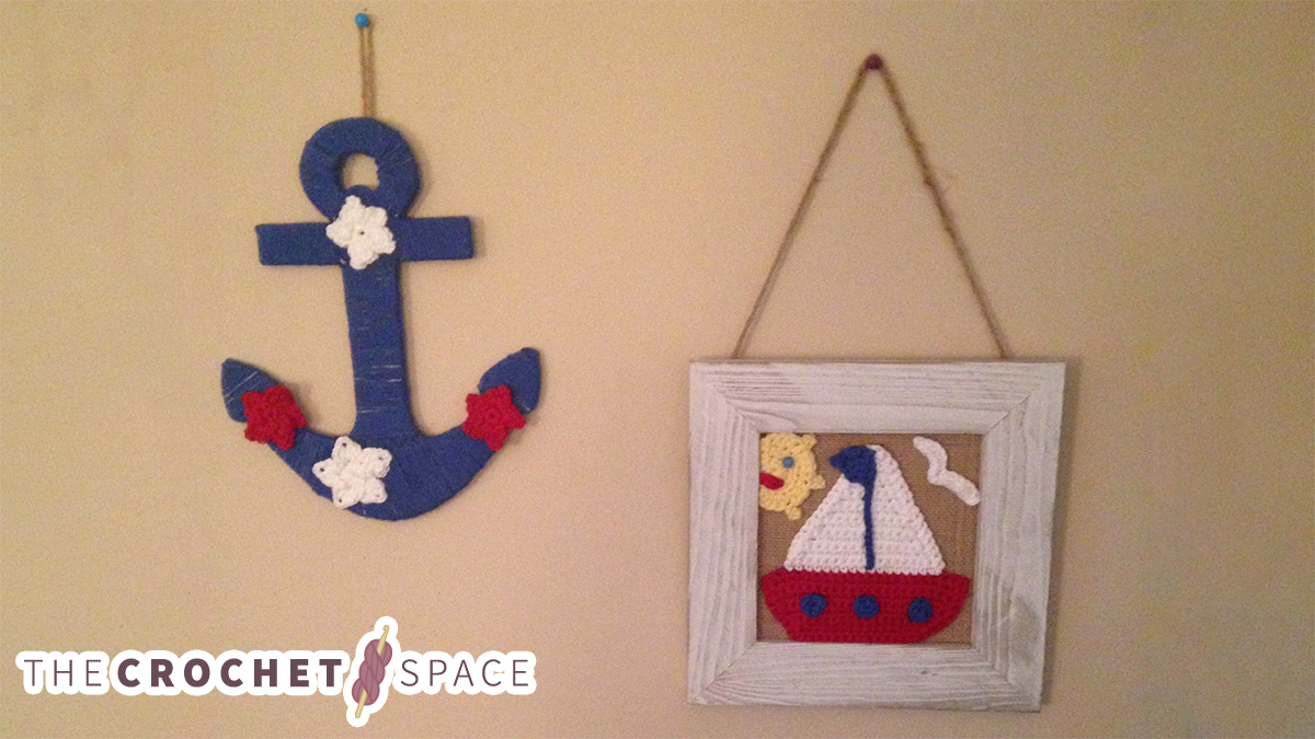 Nicely Nautical Crochet Accents || thecrochetspace.com