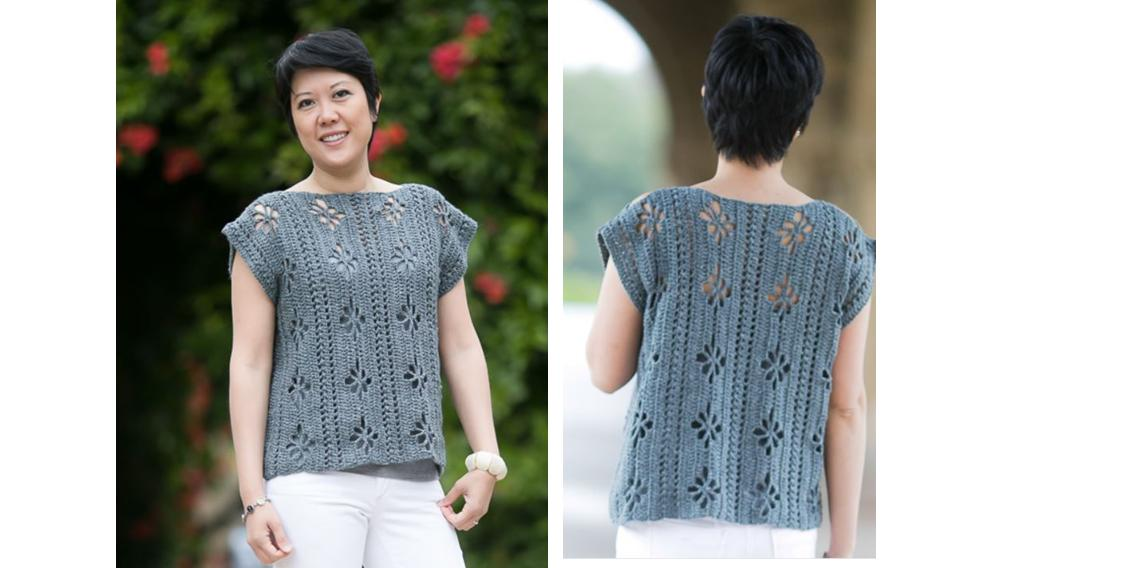 Perfect Poppy Crochet Tunic | thecrochetspace.com