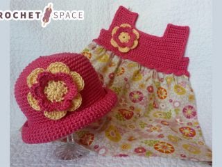 Pretty-Pixie Crochet Baby Dress || thecrochetspace.com