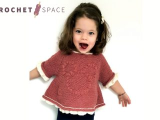 Pretty Minnie Crochet Top || thecrochetspace.com