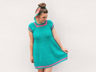 Pretty Penny Crochet Dress || thecrochetspace.com