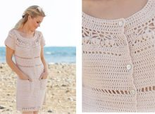 Sandy Shores Crochet Dress | thecrochetspace.com