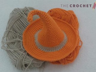 Seasonal Crochet Witches Hat || thecrochetspace.com