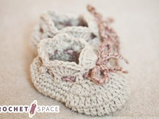 Seriously Cute Crochet Slippers || thecrochetspace.com