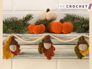 Special Autumn Crocheted Accents || thecrochetspace.com