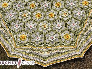 Spring Narcissus Crochet Cal || thecrochetspace.com