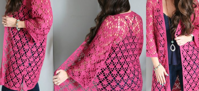 Sun Kissed Crochet Cardigan || thecrochetspace.com