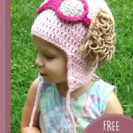 Toddler Paw-Patrol Crochet Hat. Side view of child wearing hat || thecrochetspace.com