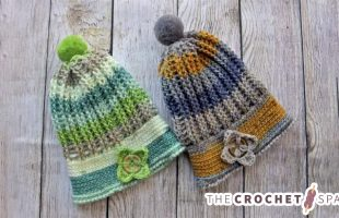 Uniquely Ribbed Crochet Hat    The Crochet Space