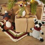 Wild Wood Crochet Toys. Fox, Reindeer and a Raccoon || thecrochetspace.com