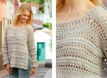 Algarve Summer Crochet Sweater | thecrochetspace.com