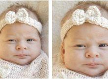 baby butterfly crocheted headband | the crochet space