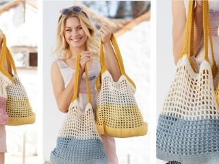 Chill Out With This Back to the Beach Crochet Bag | thecrochetspace.com