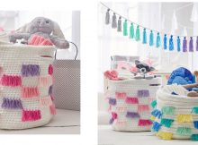 basket for baby's things   the crochet space