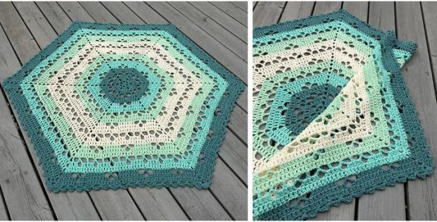 cloudberry crocheted blanket | the crochet space