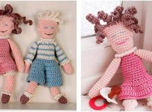 cuddlesome crocheted dolls | the crochet space