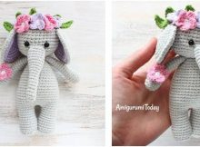 cuddly crocheted elephant | the crochet space