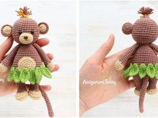 cuddly crocheted monkey | the crochet space
