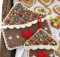 Gingerbread house pot holder | the crochet space