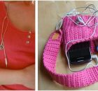 handy crocheted running armband | the crochet space