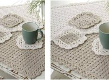 options crocheted placemat set | the crochet space