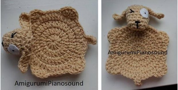 quirky crocheted dog coaster | the crochet space