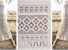 summer escape crocheted skirt | the crochet space