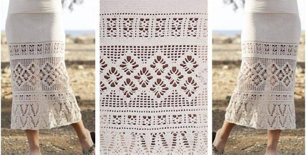 Summer Escape Crocheted Skirt [FREE Crochet Pattern]