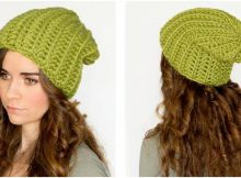 willow tree crocheted slouchy beanie | the crochet space